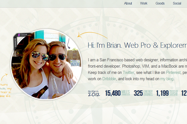 Freelance design portfolio for Brian Delaney