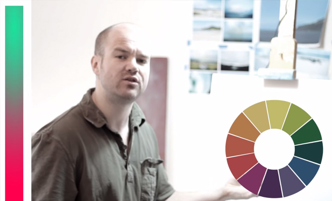 color theory hue and saturation video