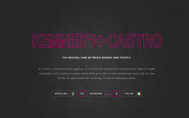 kennedy and castro pink outline highlight website