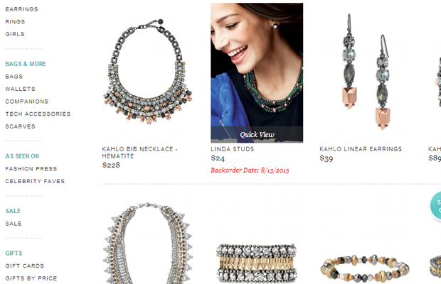stella dot new products shop ecommerce