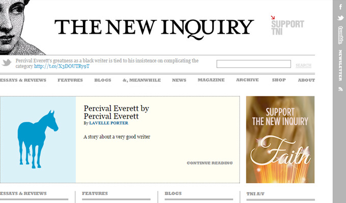 new inquiry magazine website