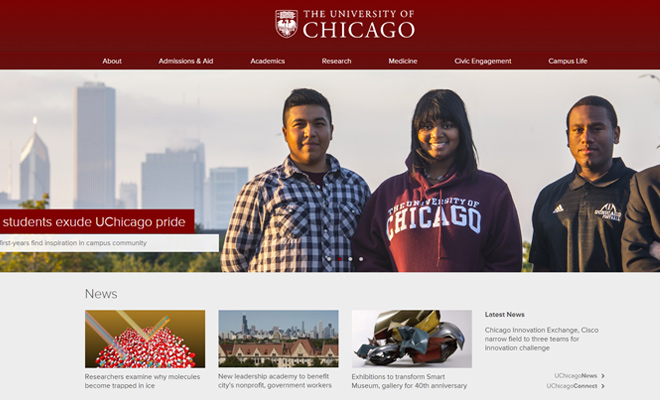 the university of chicago website