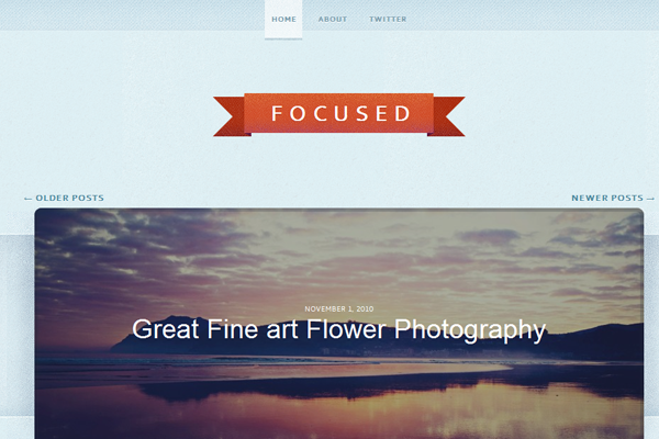 WPBundle Focused minimalist WordPress photography portfolio