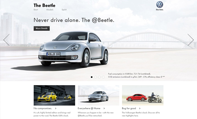 beetle volkswagen website auto