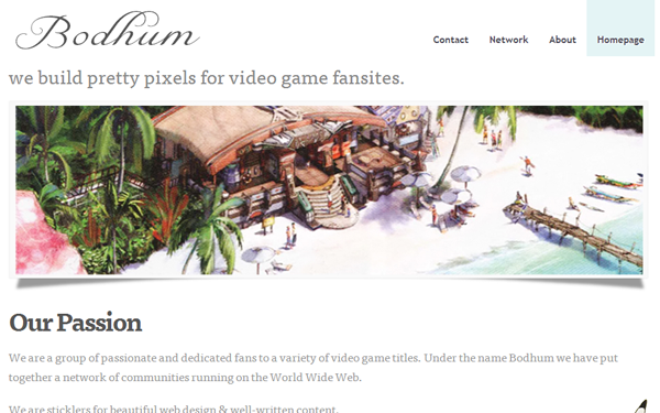 The Bodhum Studio Gaming Network fansites game guides