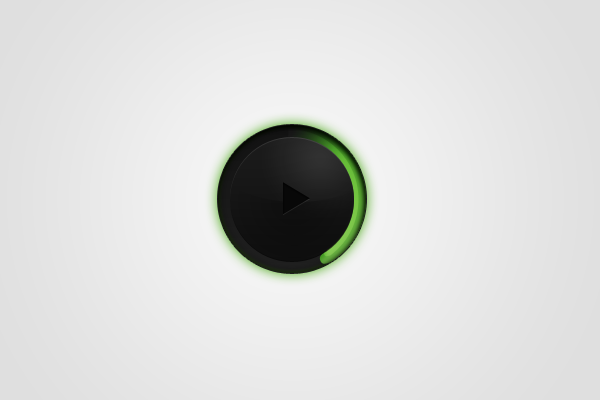 circular music player mp3 design ui