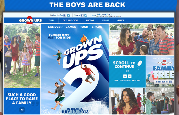 grownups 2 movie official website