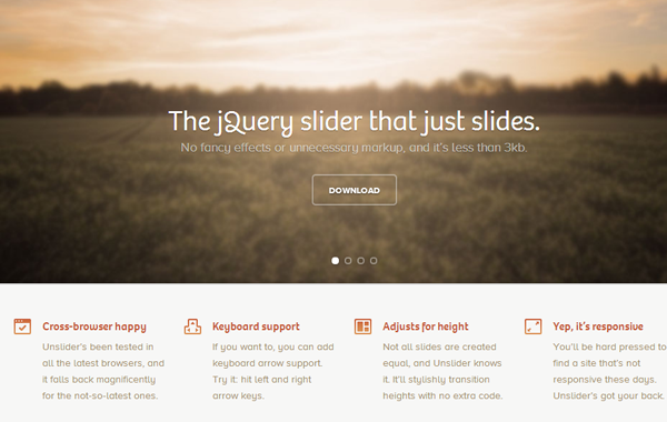 homepage slider featured images plugin