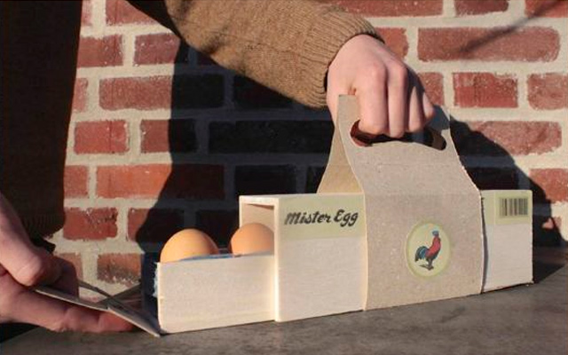 mister mr egg packaging foods box