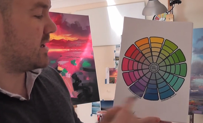 color theory mixing video howto