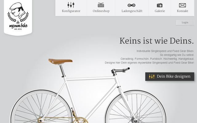 imple grey german deutsch webshop layout