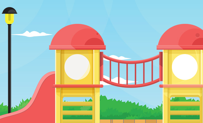 playground illustrator background