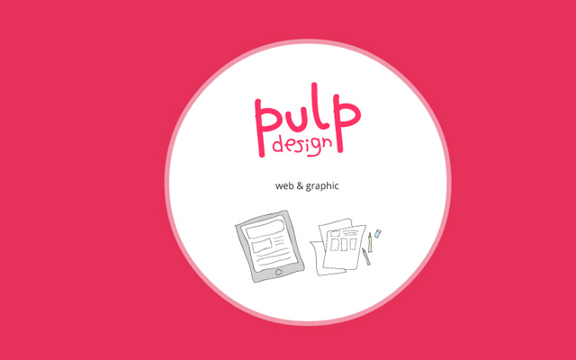 pink bright website design pulp studio creative