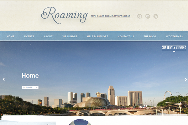 WPBundle Roaming theme for WordPress
