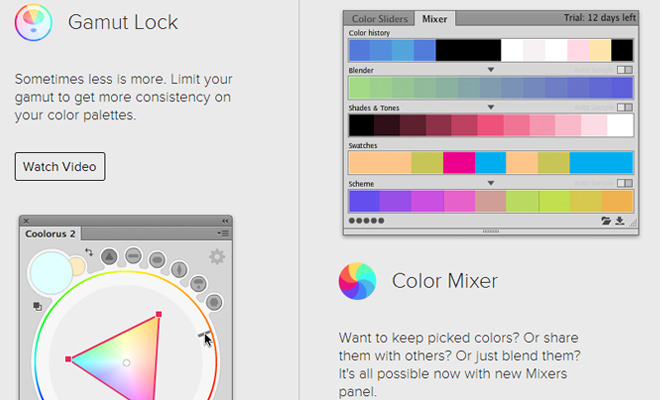 coolorus photoshop color wheel picker
