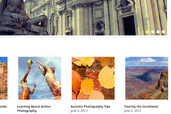 Elegant Photography Vandelay Blog WordPress Open Source Theme template