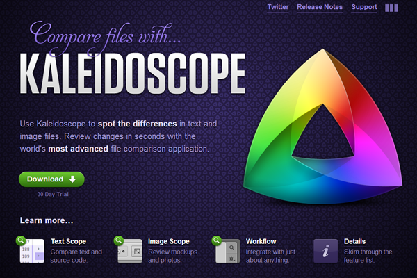 document comparison version checking app Kaleidoscope Mac OSX