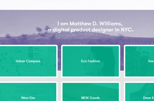 matt matthew d williams designer portfolio