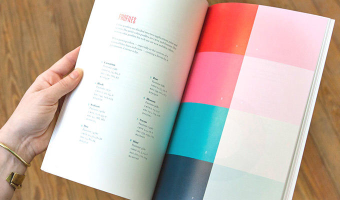 print style guide book