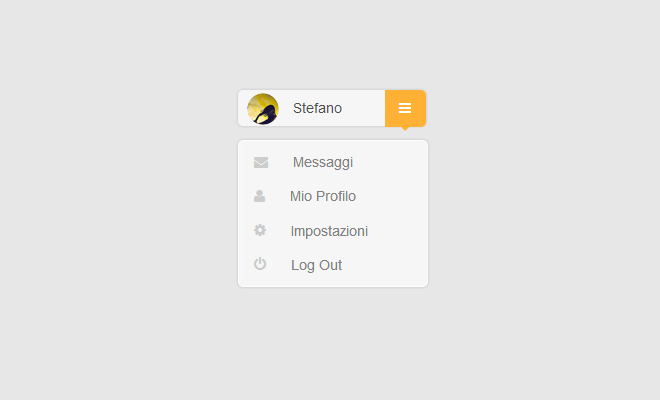 simple css drop down navigation toggle menu