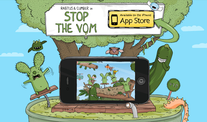 stop the vom iphone game webpage