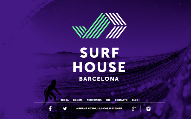 purple site surf house barcelona