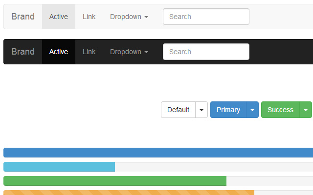 bootstrap freebie css3 transition effects