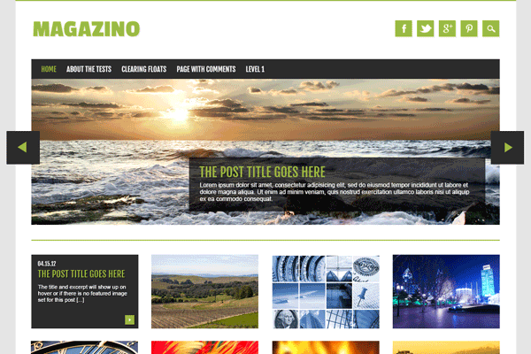 magazino wordpress theme freebie download