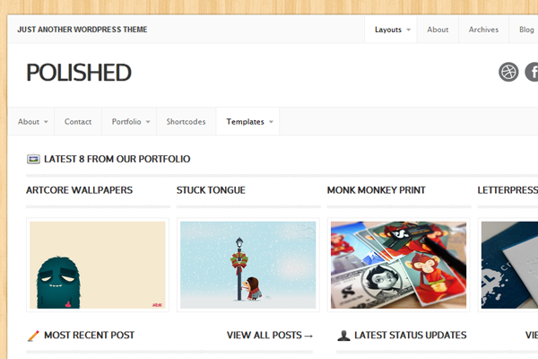 Mojo Themes Polished for WordPress market