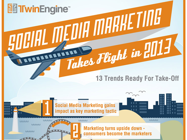 social marketing infographics howto build trends webdesign