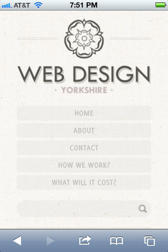 Website design Yorkshire responsive