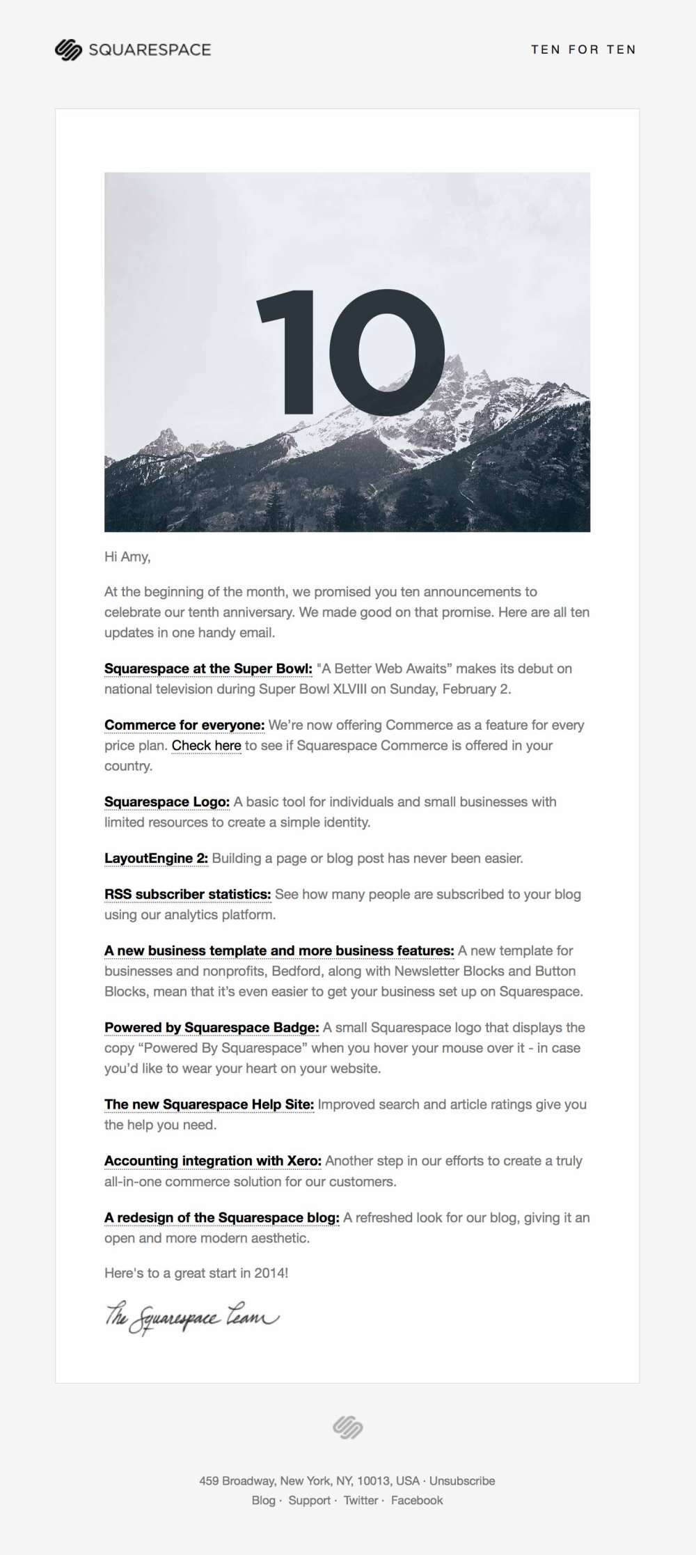 how to change newsletter font color in squarespace