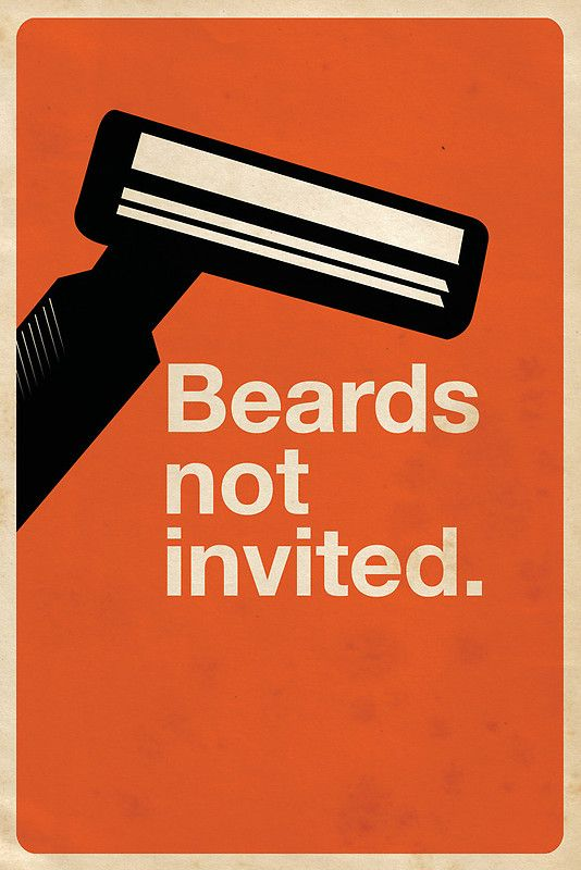 Beards Not Invited