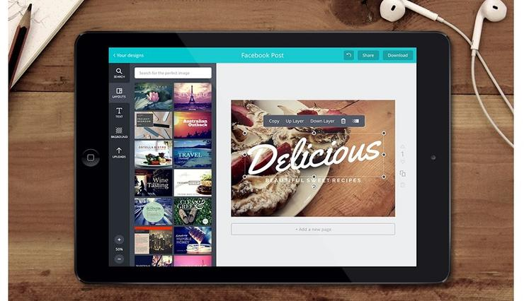 Canva for iOS