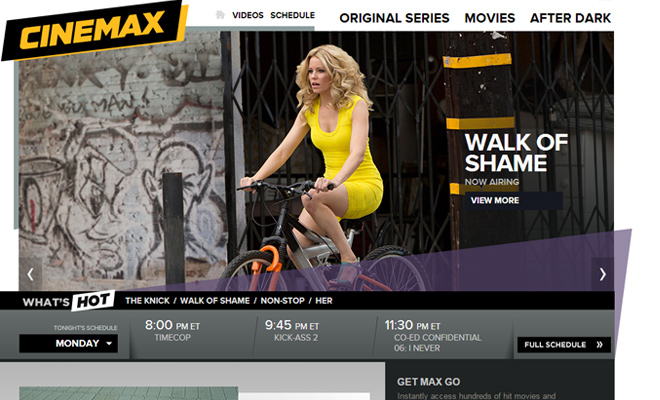 cinemax official website channel movies