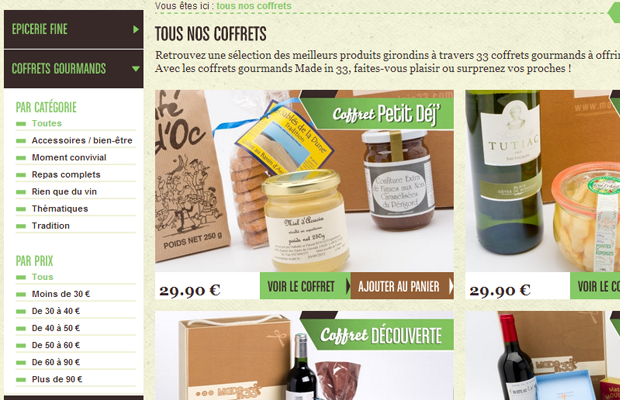 made in 33 coffee grinds ecommerce products