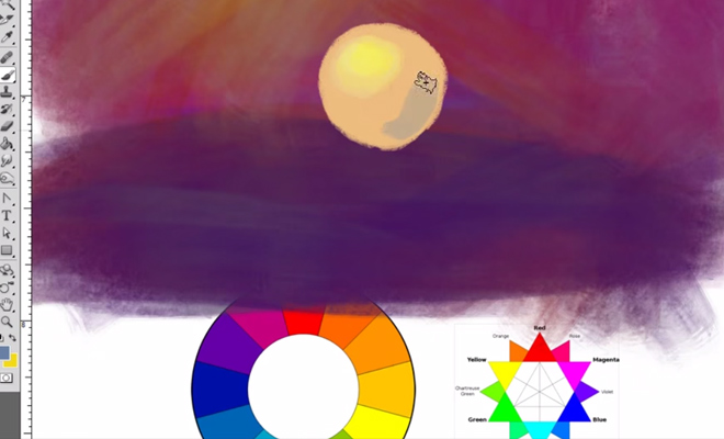 color theory made stupid video tutorial