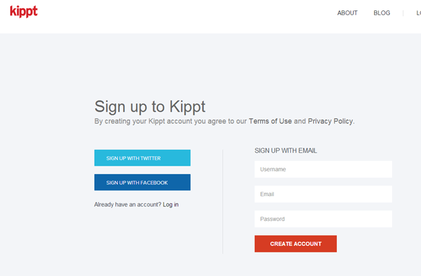 flat user interface login form design