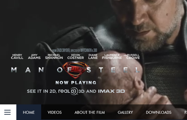 superman of steel movie official site