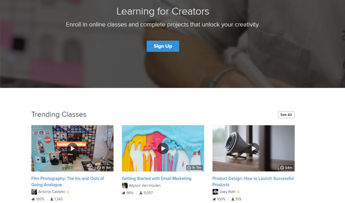 skillshare learning tutorials courses
