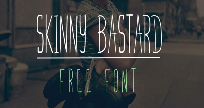 Bring Elegance To Your Designs With These Free Thin Fonts