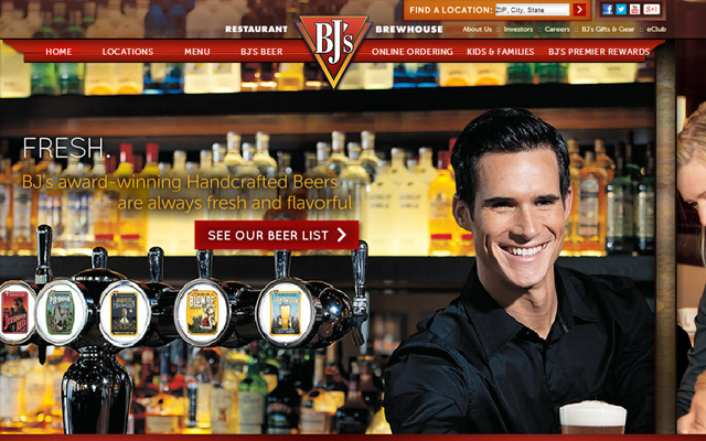 bjs bj steakhouse website restaurant