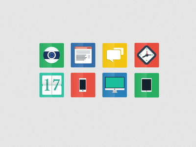 freebie psd desktop icons flat ui