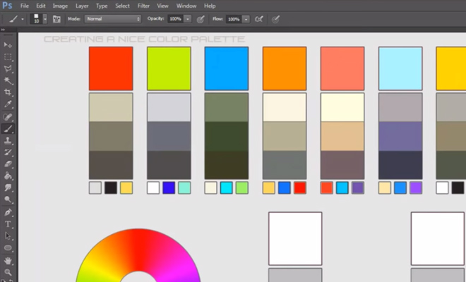 video tutorial creating color palettes howto
