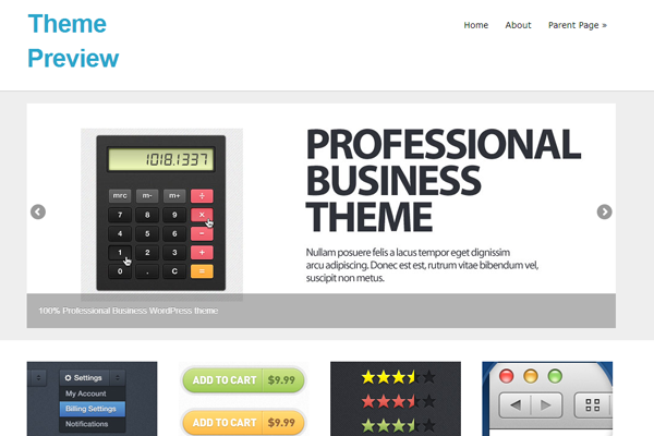 wordpress free theme download simple minimalist