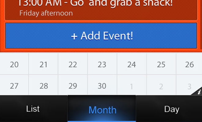 mobile calendar app photoshop tutorial