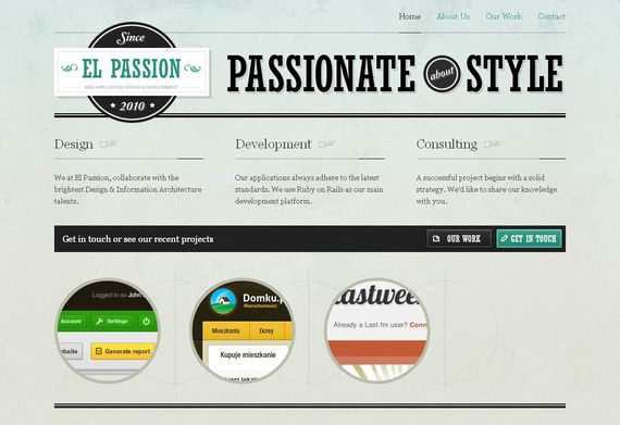 35 Inspiring Examples Of Texture In Web Design