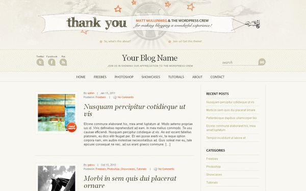 21 Amazing Free WordPress Themes