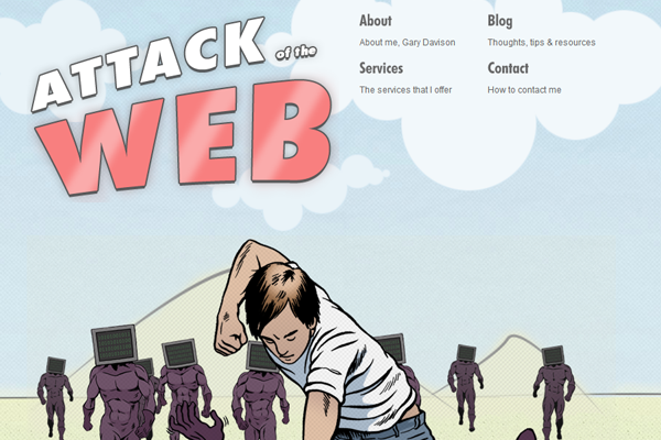 Attack of the Web Portfolio