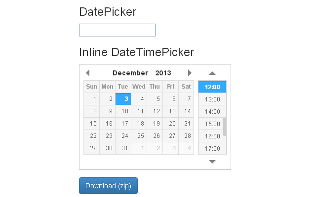 datetime picker jquery plugin open source